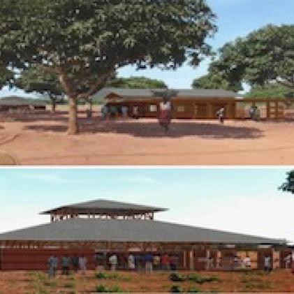 Projet d'un espace polyvalent socio éducatif, culturel, jeunes et réunion HONHOUE (Bénin)   Projet d'architecture et d'urbanisme en Afrique   Scoop.it