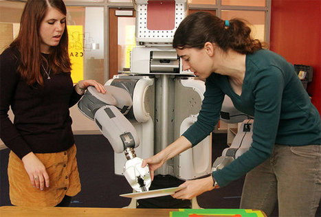 MIT Teaching PR2 to Be Better at Not Failing - IEEE Spectrum | All staff related with computers and technology...and software, hardware, robotics, games, AI... | Scoop.it