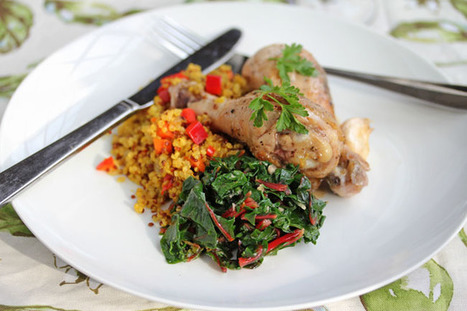 #HEALTHYRECIPE - Lyon-Style Chicken with Vinegar Sauce Recipe | Best of me | Scoop.it