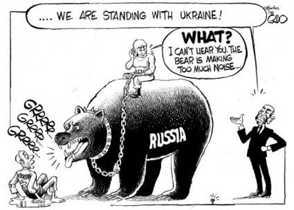 Russia, Ukraine and Obama - Gado | Global Politics - Yemen | Scoop.it