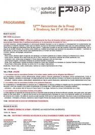 Les prochaines rencontres inter-associatives de la FRAAP à Strasbourg les 27 et 28 mai prochains ! - FRAAP | Syndicat Potentiel | Scoop.it