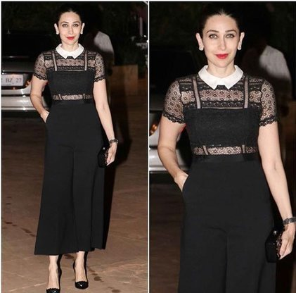 Karishma Kapoor in Black Jumpsuit by Mr.Self Portrait | Indian Fashion Updates | Scoop.it