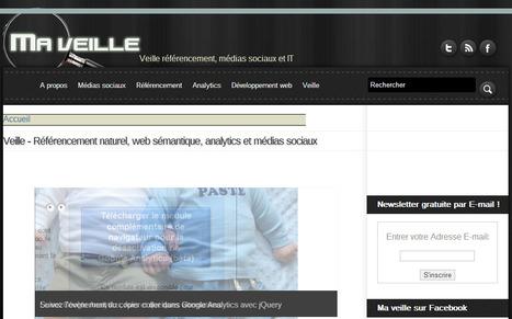 Blog SEO, veille, médias sociaux, actualités du web - Ma Veille | Time to Learn | Scoop.it