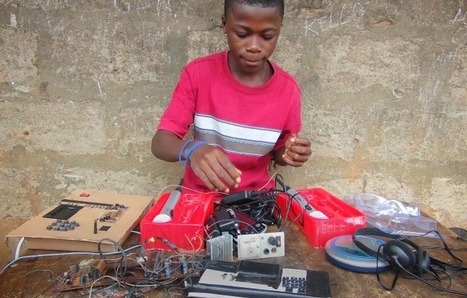 Kelvin, 15 ans, enfant prodige du Sierra Leone invité au MIT | Collaborative practices | Scoop.it