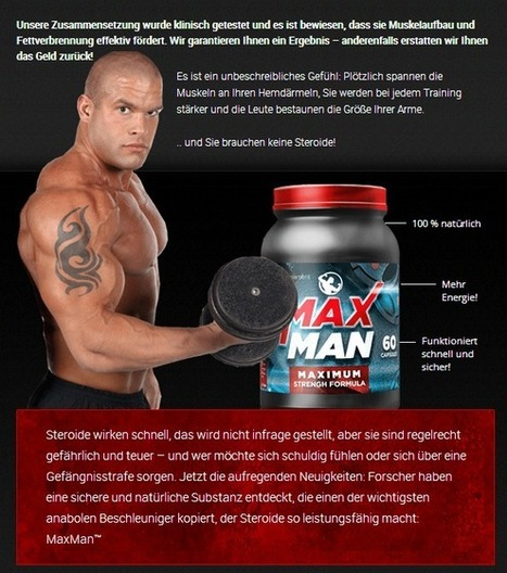 Sie interessieren sich für Maxman Power? .... Lesen Sie zuerst vor Kauf!!! | Discover The Most Direct Muscle Building Foods Maxman Power | Scoop.it