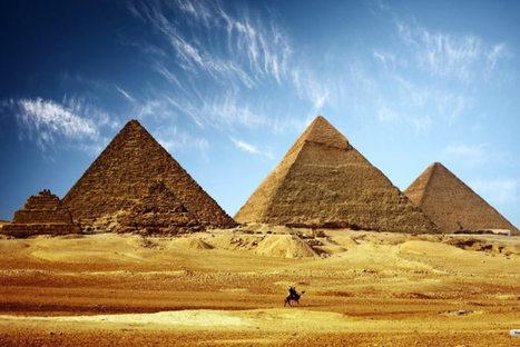 Los arqueólogos de ojos termógrafos desnudan las pirámides de los faraones | Egiptología | Scoop.it