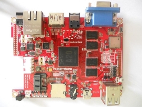 Cubietruck is a small, open source mini PC with an Allwinner A20 ...   Heron   Scoop.it