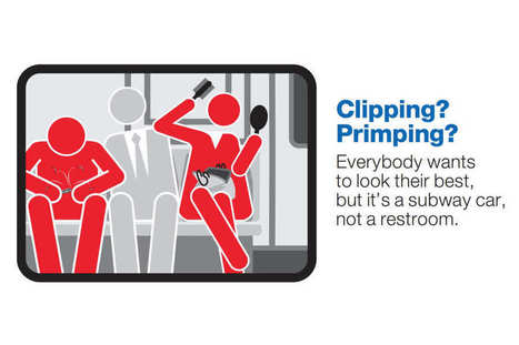 Nail-Clippers and Performers Join Manspreaders As the Target of the MTA's Latest Ads | Dance as Civic Duty | Scoop.it