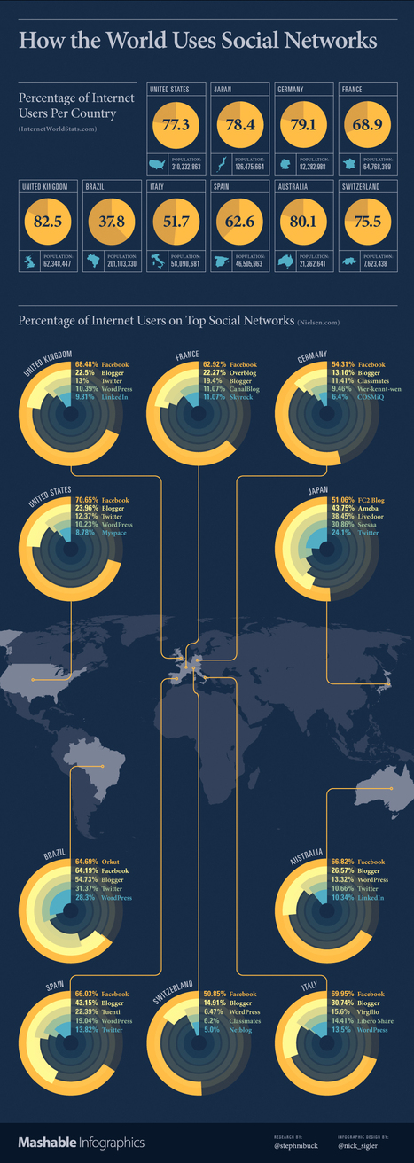 How the World Uses Social Networks [INFOGRAPHIC] | Toulouse networks | Scoop.it