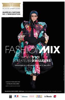 Exposition : Fashion Mix - Mode d'ici. Créateurs d'ailleurs. | Musée de l'histoire de l'immigration | Textile Horizons | Scoop.it