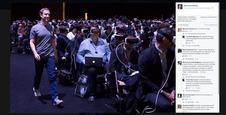 Une photo de Mark Zuckerberg ravive la peur de la réalité virtuelle | BRAIN SHOPPING • CULTURE, CINÉMA, PUB, WEB, ART, BUZZ, INSOLITE, GEEK • | Scoop.it