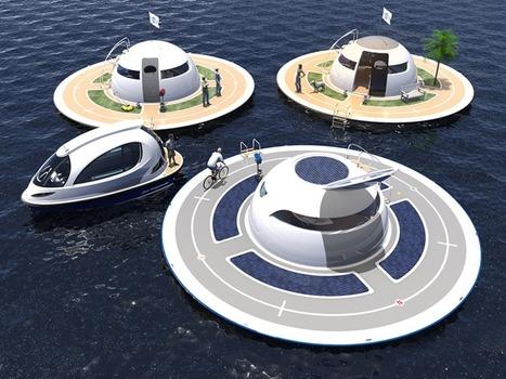 Jet Capsule Unveils Concept Yacht That Is Out of This World | Architectural Digest | Post-Sapiens, les êtres technologiques | Scoop.it