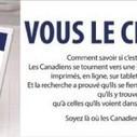 Journaux Canadiens fait campagne contre la crédulité | Actus Médias Québec | Scoop.it