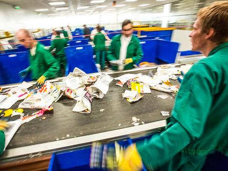 Comment fonctionne un centre de tri des déchets ? | Gestion et valorisation des déchets | Scoop.it