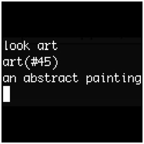 """Networked_Performance — Live Stage: """"look art"""" MUD Exhibition [online] 