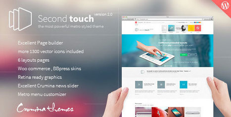 Second Touch v1.7 - Powerful metro styled theme - Yocto Templates | YOCTO WordPress Themes & Plugins | Scoop.it