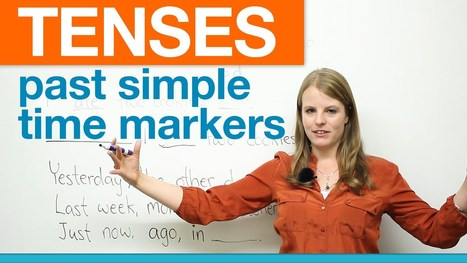 English Grammar: Past Simple Time Markers · engVid | Articles re. education | Scoop.it