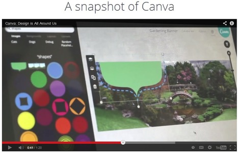 Canva – Amazingly simple graphic design | Wepyirang | Scoop.it