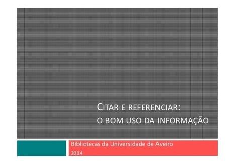 Citar e referenciar | Digital citizenship | Scoop.it