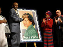 Rosa Parks Stamp Unveiled on her 100th Birthday | Black History Month Resources | Scoop.it