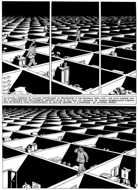 Labyrinths and Metaphysical Constructions  An Interview with Marc-Antonie Mathieu | Le BONHEUR comme indice d'épanouissement social et économique. | Scoop.it