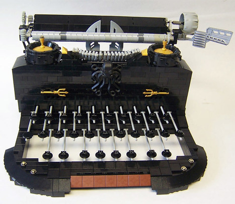 QWERTY: The LEGO Typewriter | All Geeks | Scoop.it