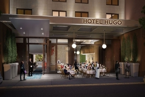 Manhattan Boutique Hotel Hugo Arriving in Winter | Interiosity | Scoop.it