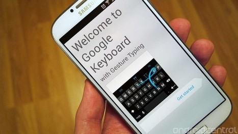 Google Keyboard now available directly from Google Play | Do The Robot | Scoop.it
