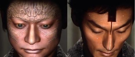 3D projection mapping sur visages | Ignition Mind | Scoop.it