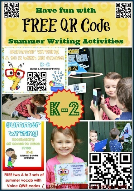 Free QR Code Summer Learning For Kids - Castle View Academy | QR Code Art | Scoop.it