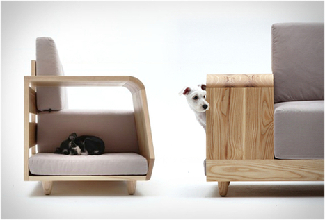 DOG HOUSE SOFA | BY SEUNGJI MUN | CharlieDogs Loves a Rescue Pet! | Scoop.it