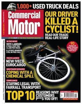 Commercialmotor.com - Out now! Commercial Motor 5 December | UK logistics | Scoop.it