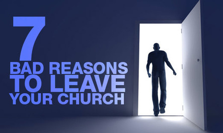 Leaving Your Church | Christian Life | Scoop.it