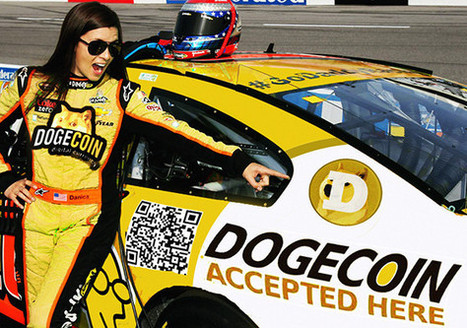 Danica Patrick give in on Doge Coin! - Imgur | Dogecoin Delirium | Scoop.it