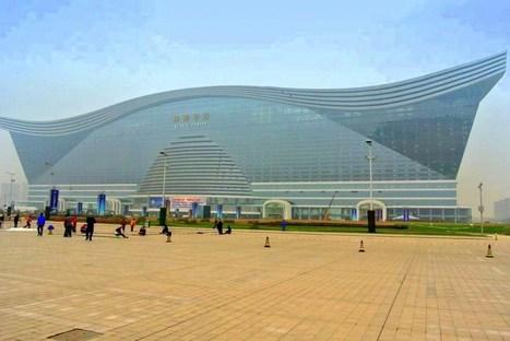 Global Center : Le plus grand bâtiment du monde est à Chengdu en Chine : inauguration en 2013 | Architecture insolite | Scoop.it