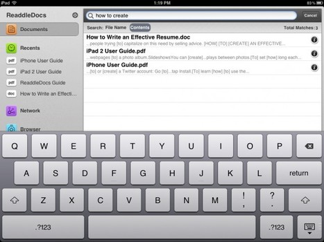 ReaddleDocs For iPad Jumps To v3.0, Making Numerous Additions To Nearly Every Area -- AppAdvice   iPad:  mobile Living, Learning, Lurking, Working, Writing, Reading ...   Scoop.it