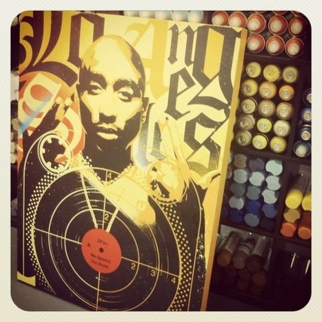 2pac Inspired Art » Design You Trust – Design and Beyond! | Visual Inspiration | Scoop.it