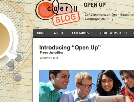 Open up: new blog from COERLL | TELT | Scoop.it