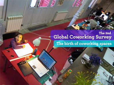 The birth of coworking spaces | La Cantine Toulouse | Scoop.it