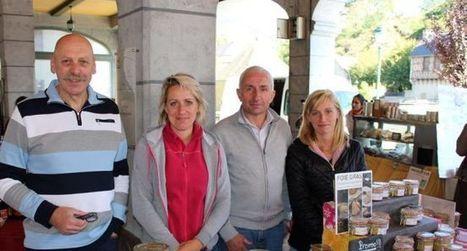 Claire, de «L'amour est dans le pré», au marché d'Arreau | Vallée d'Aure - Pyrénées | Scoop.it