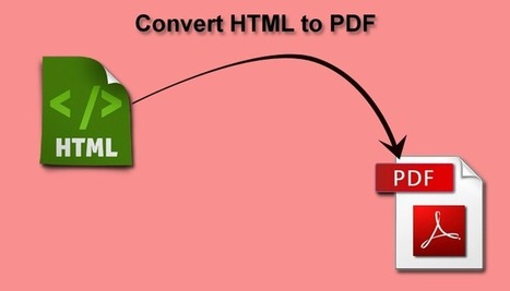 Top 4 HTML to PDF Tools of 2015 | technology | Scoop.it