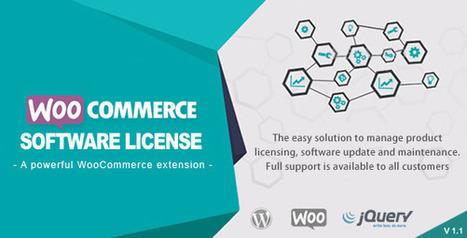 WooCommerce Software License (Products) Download | Hemsidan för småföretagare | Scoop.it