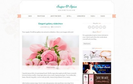 20 Inspiring Free WordPress Themes To Start Anew in 2014 - noupe   CMS   Scoop.it