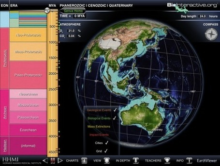 EarthViewer for iPad Takes You Through the History of Earth | iPads:Deeply Digital eBooks | Scoop.it