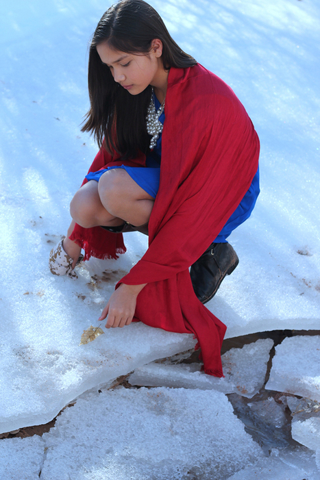 Moving Photos Show Native American Children Defending The Earth   The Huffington Post   Kiosque du monde : Amériques   Scoop.it