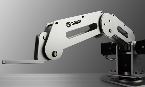 Dobot's robot arm: Industrial precision at low cost | Robohub | MOBILE ROBOTICS | Scoop.it