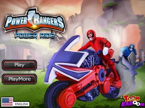 Power Rangers Power Ride | Transformers Games | Sonic Games | Power Rangers Games | Scoop.it