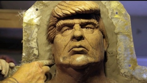 Video: Making of the Naked Trump Statues | Artcentron | Art | Scoop.it