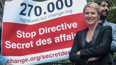 Secret des affaires : la pétition remise demain à @clegrip #Tradesecrets | Société | Scoop.it