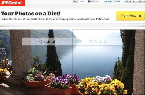 JPEGmini - Your photos on a diet! | Technology Ideas | Scoop.it